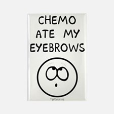 Chemo Ate My Eyebrows Rectangle Magnet