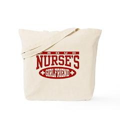 Proud Nurse's Girlfriend Tote Bag
