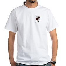 Brown Dog Carpentry White tshirt