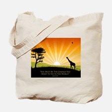 Ghandi Tote Bag