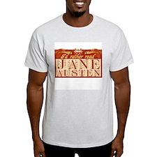 Read Jane Austen Ash Grey T-Shirt