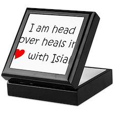 Isiah name Keepsake Box