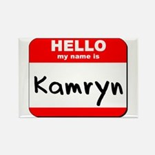 Hello my name is Kamryn Rectangle Magnet
