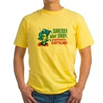 Trick-or-Treat Alien Girl Yellow T-Shirt
