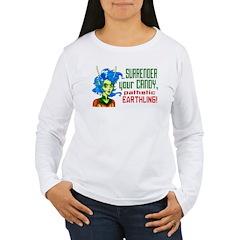 Trick-or-Treat Alien Girl T-Shirt