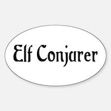 Elf Conjurer Oval Decal