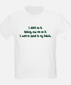 Want to Speak to Babcia T-Shirt