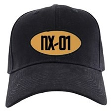 NX-01 Baseball Hat - Black text / Gold background