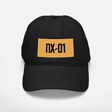 NX-01 Baseball Hat - Black text / Gold background