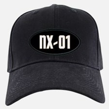 NX-01 Baseball Hat - White text/Gold highlights