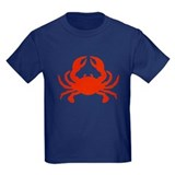 Crabs Kids T-shirts (Dark)