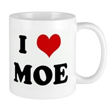 I Love MOE Small Mug