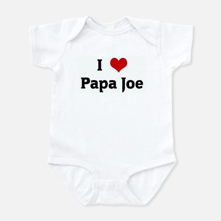 I Love Papa Joe Infant Bodysuit