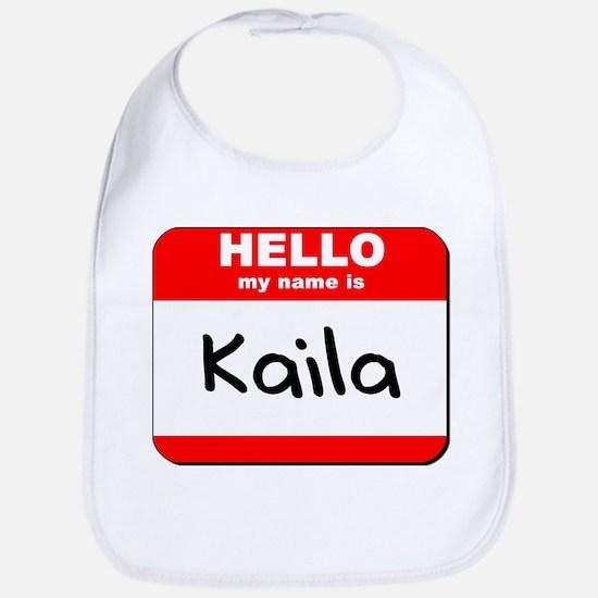 Hello my name is Kaila Bib