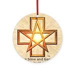 Sime~Gen Ornament (Round)