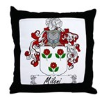 Miloni Family Crest Throw Pillow