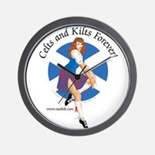 Scott Pin Up Girl Wall Clock