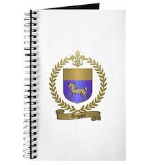 DUQUET Family Crest Journal