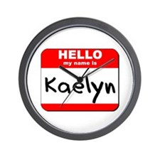 Hello my name is Kaelyn Wall Clock