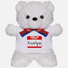 Hello my name is Kaelyn Teddy Bear