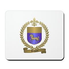 DUQUET Family Crest Mousepad