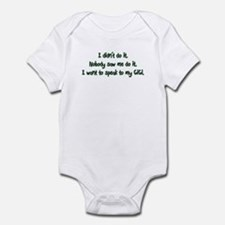 Want to Speak to GiGi Infant Bodysuit