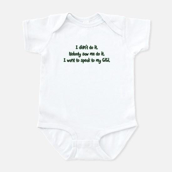 Want to Speak to GiGi Infant Bodysuit