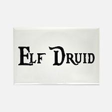 Elf Druid Rectangle Magnet