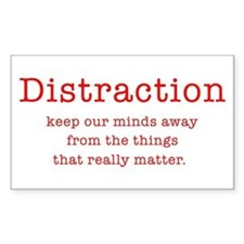 Distraction Rectangle Decal