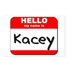 Hello my name is Kacey Postcards (Package of 8)
