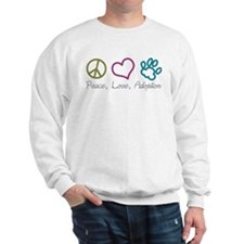 Peace, Love, Adoption Sweatshirt