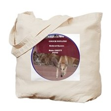 Tote Bag - Adopt a 45 mph couch potato Greyhound