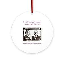 Al Capone Accountant Keepsake (Round)