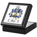 Miniati Family Crest Keepsake Box