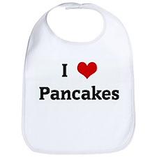 I Love Pancakes Bib
