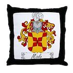 Miolo Family Crest Throw Pillow