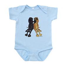 NNBlkBr Lean Infant Bodysuit
