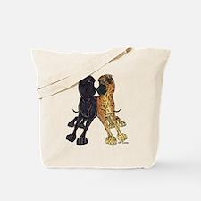 NNBlkBr Lean Tote Bag