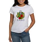 Mirandola Family Crest Women's T-Shirt
