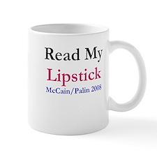 Read My Lipstick McCain/Palin Mug