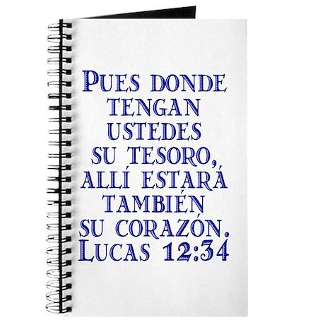 Lucas 12:34 Journal