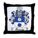 Mocenigo Family Crest Throw Pillow