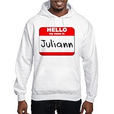 Hello my name is Juliann Hoodie