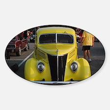 Car - Oval Decal