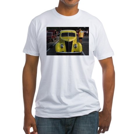 Car - Fitted T-Shirt