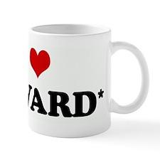 I Love EDWARD* Mug