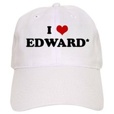 I Love EDWARD* Baseball Cap