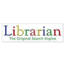 Librarian Bumper Sticker