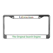 Librarian License Plate Frame