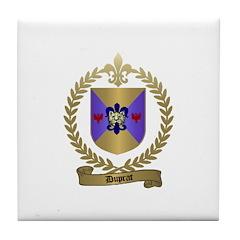 DUPRAT Family Crest Tile Coaster